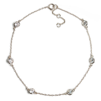 Dakota Crystal Anklet