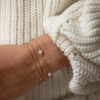 Oli Layered Chain Bracelet, Bracelets - AMY O. Jewelry