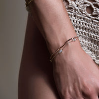 Mae Beaded Chain Bracelet, Bracelets - AMY O. Jewelry