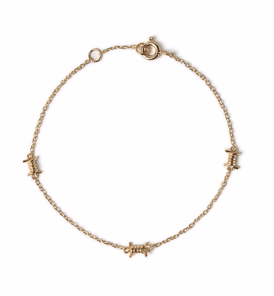 Spike Gold Bracelet, Bracelets - AMY O. Jewelry