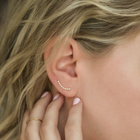 Shay Earring Climbers, Earrings - AMY O. Jewelry