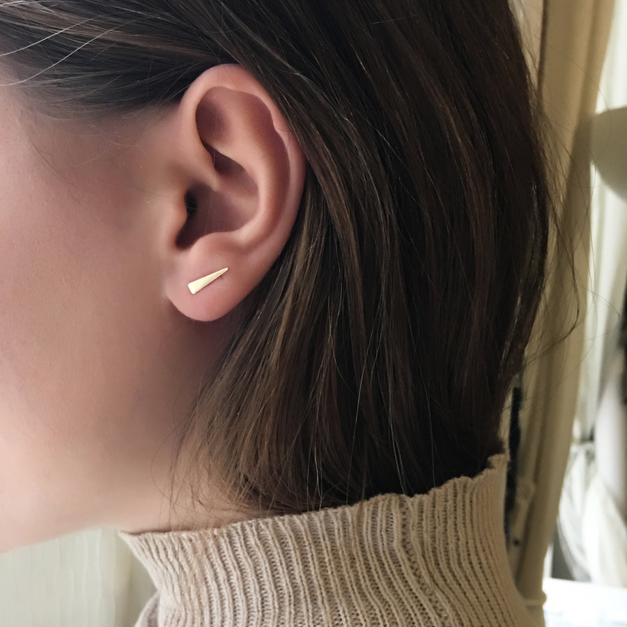 Delta Stud Earrings, Earrings - AMY O. Jewelry