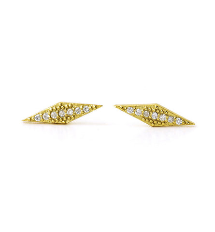 Angulo Gold Earrings