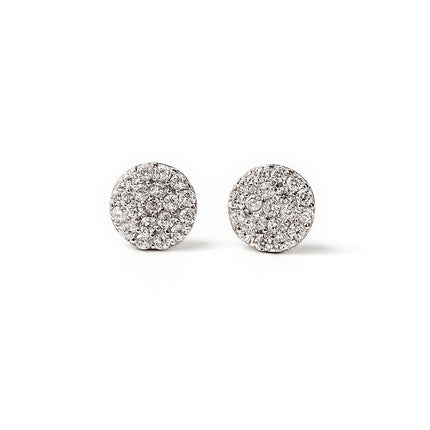 Lola Petite Pavé Stud Earrings