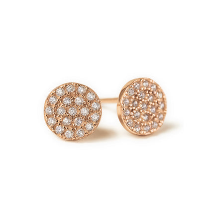 Lola Pavé Stud Earrings