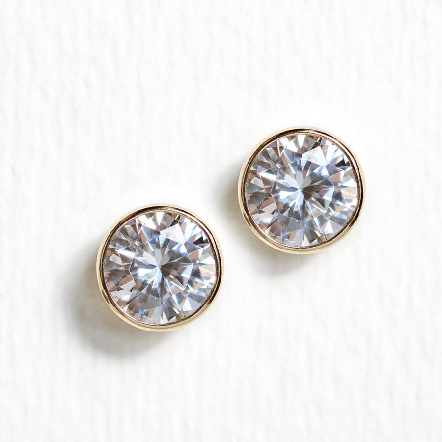 Shay Stud Earrings, Earrings - AMY O. Jewelry