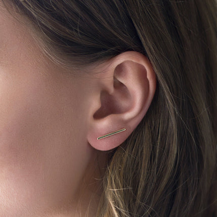 Bar Ear Climber Earrings