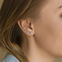Shooting Star Ear Climber Earrings
