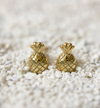 Pineapple Stud Earrings, Earrings - AMY O. Jewelry