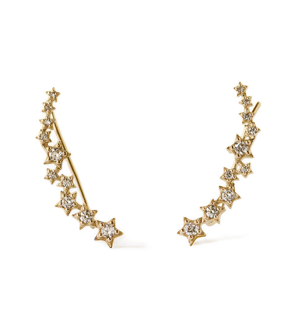 Stardust Earring Climbers, Earrings - AMY O. Jewelry