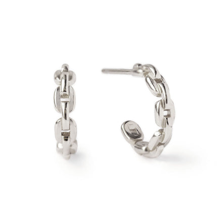 Small Chain Link Hoops