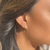 Pave Suspender Earring