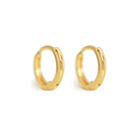 Mini Huggie Hoops 14K