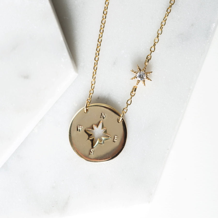 Star Compass Necklace