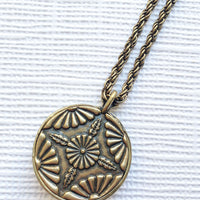 Lotus Pendant, Necklaces - AMY O. Jewelry