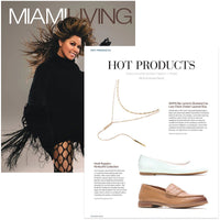 caption: Featured on Miami Living Magazine