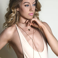 Mae Beaded Chain Choker, Necklaces - AMY O. Jewelry