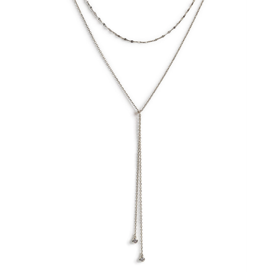 Lulu Choker Lariat, Necklaces - AMY O. Jewelry