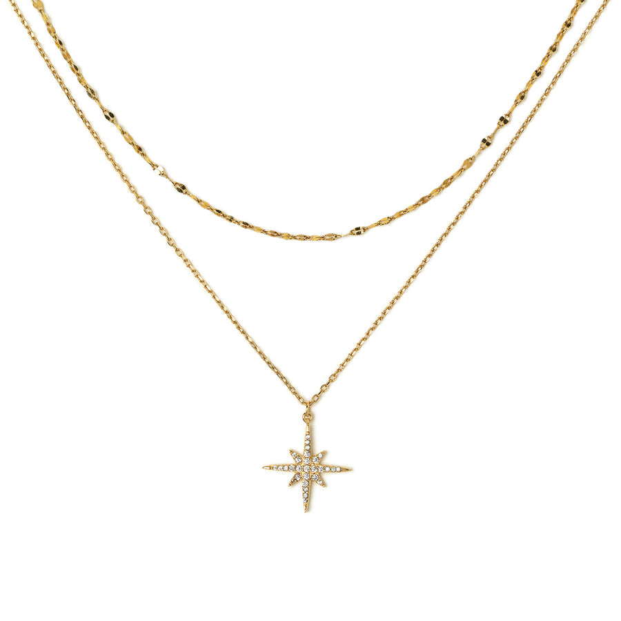 Celeste Star Pendant Necklace