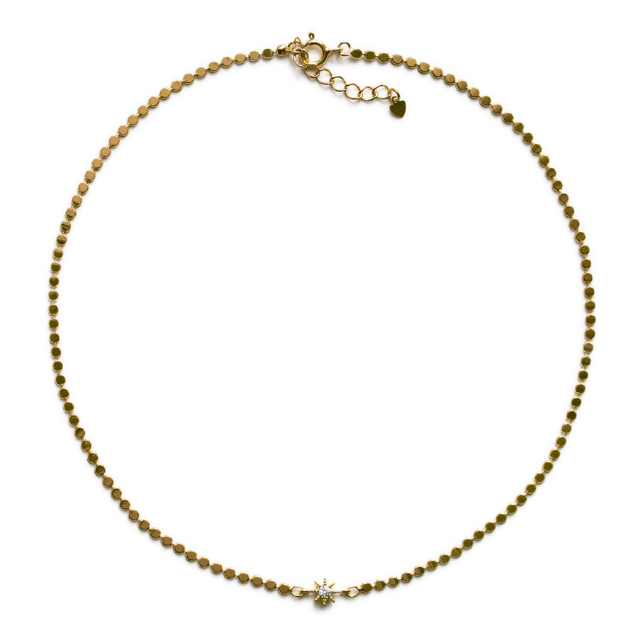 Mae Beaded Star Choker, Necklaces - AMY O. Jewelry
