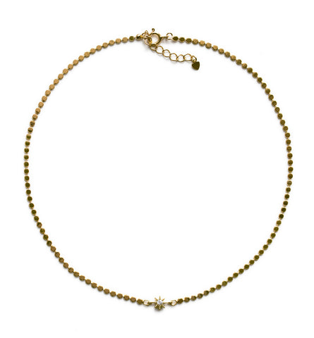 Mae Star Choker in Gold
