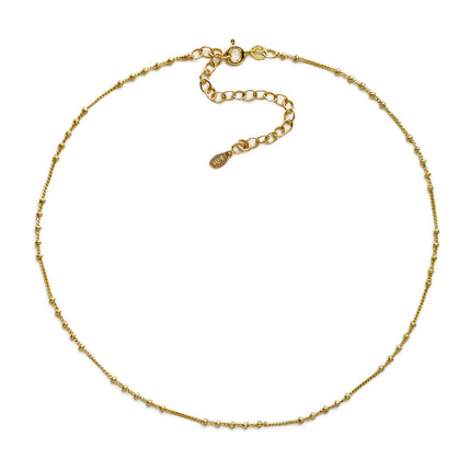 Chloe Cinq Beaded Chain Choker