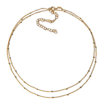 Oli Double Layered Choker