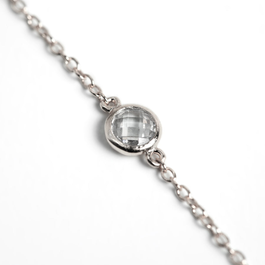 Sienna Petite Crystal Choker, Necklaces - AMY O. Jewelry