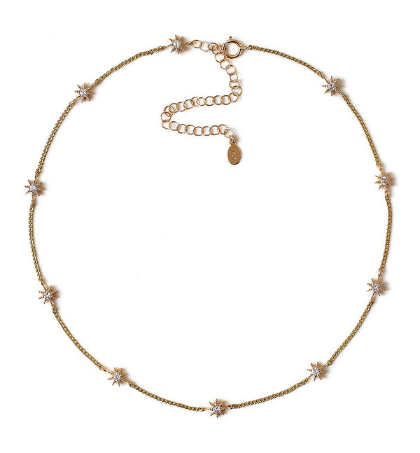 Stella Star Choker, Necklaces - AMY O. Jewelry