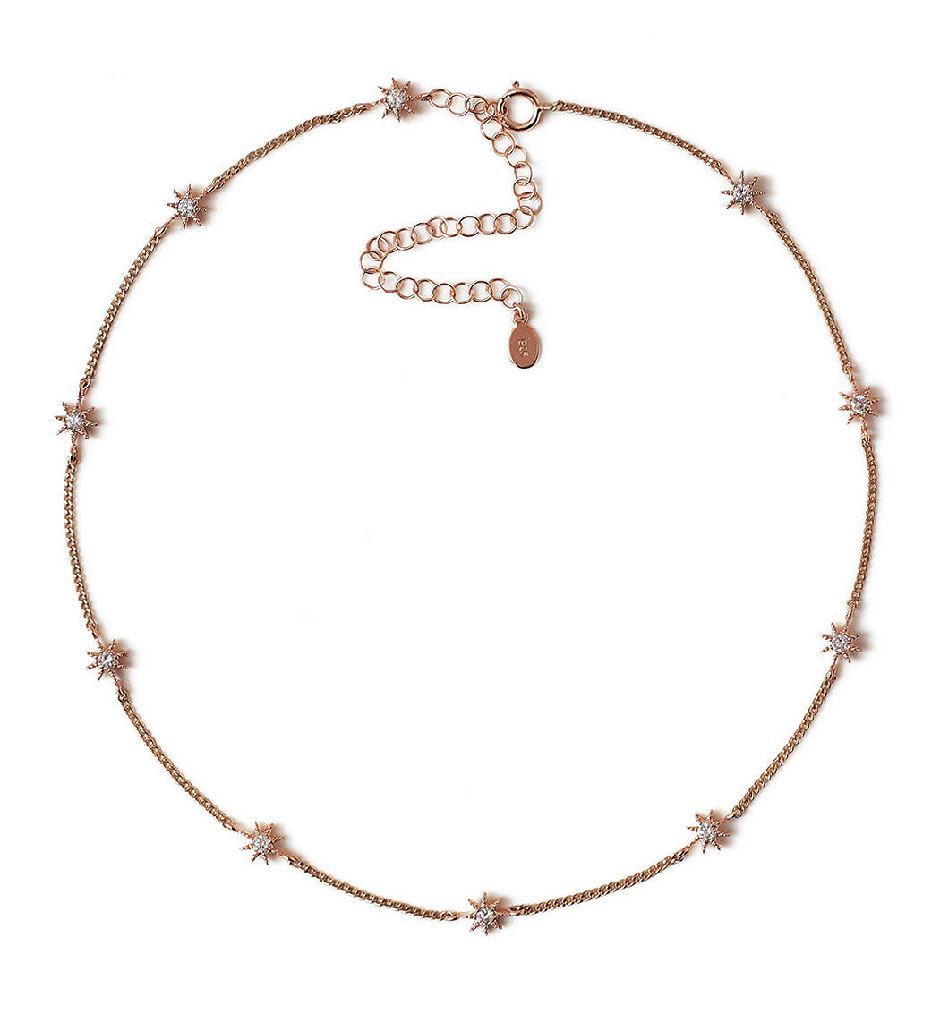 Stella Starburst Choker, Necklaces - AMY O. Jewelry