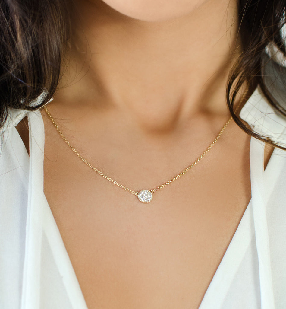 One in a Million Gold Necklace, Necklaces - AMY O. Jewelry