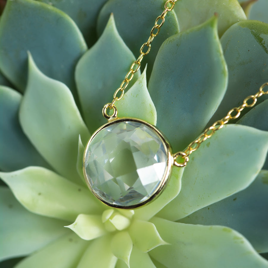 Bianca Crystal Necklace, Necklaces - AMY O. Jewelry