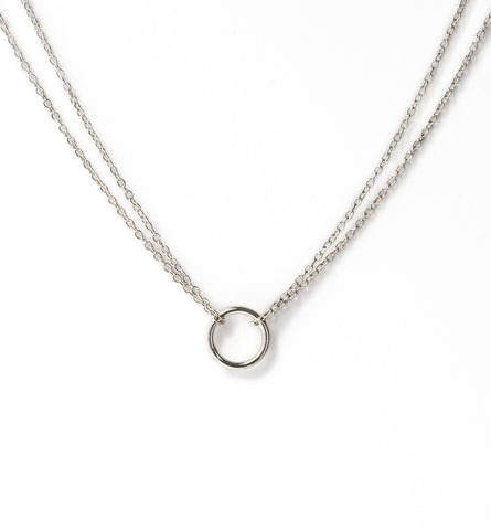 Lily Sterling Silver Necklace, Necklaces - AMY O. Jewelry