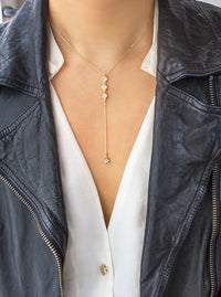 Ella Lariat, Necklaces - AMY O. Jewelry