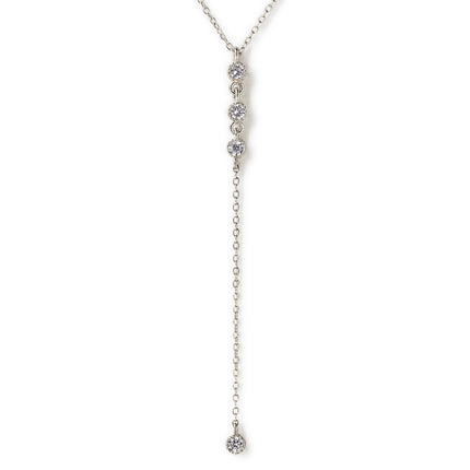 Ella Trio Lariat Necklace