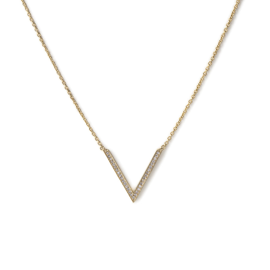 Delta V Necklace, Necklaces - AMY O. Jewelry