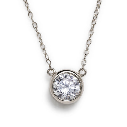 Dakota Solitaire Necklace