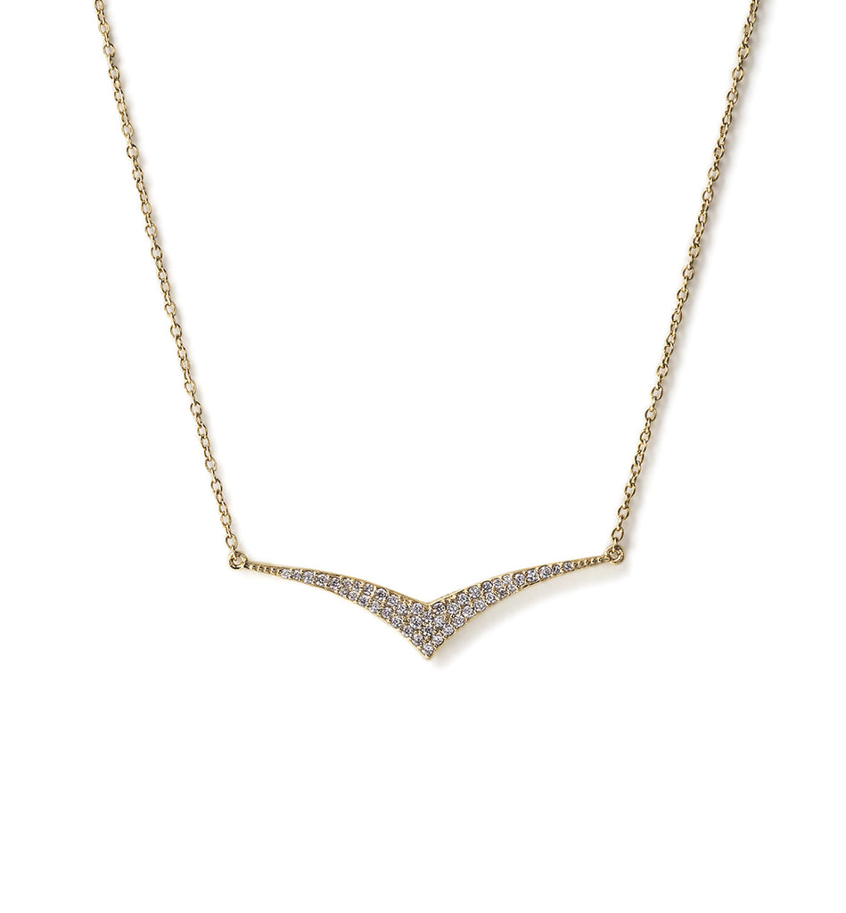 Paloma Diamond Necklace, Necklaces - AMY O. Jewelry
