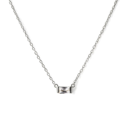 Sofia Baguette Necklace