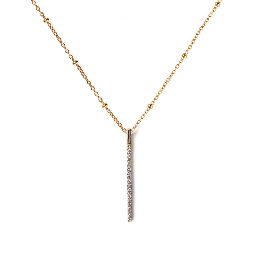 Fiona Beaded Chain Necklace, Necklaces - AMY O. Jewelry