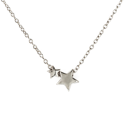 Vega Star Duo Pendant Necklace