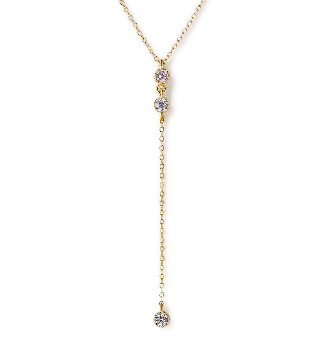 Ella Mini Lariat, Necklaces - AMY O. Jewelry