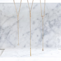 Ella Duo Lariat Necklace