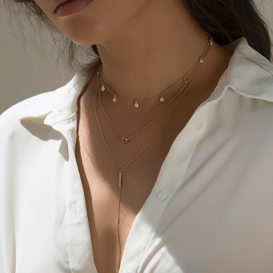 Dakota Choker Necklace, Necklaces - AMY O. Jewelry