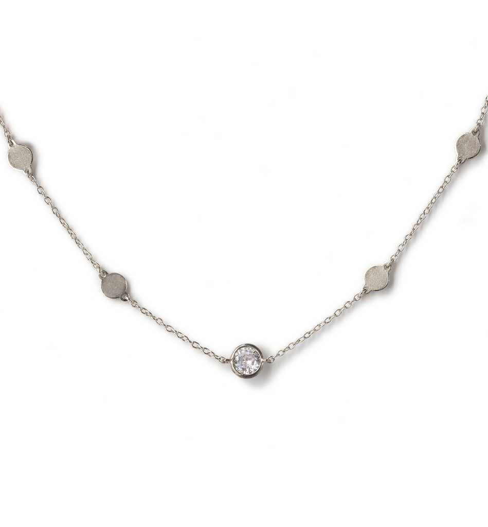 Serena Silver Choker, Necklaces - AMY O. Jewelry