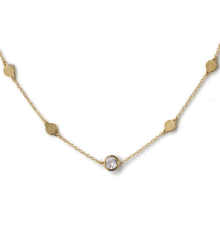 Serena Gold Choker, Necklaces - AMY O. Jewelry