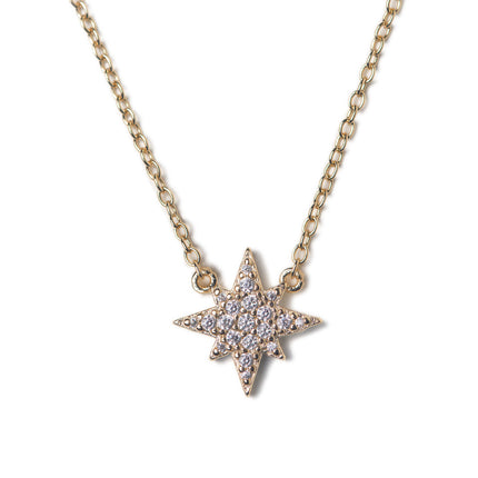 Stella Starburst Pendant Necklace