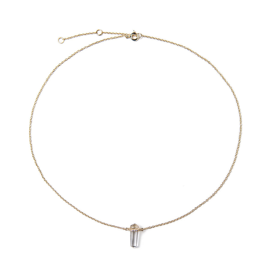 Heidi Mini Crystal Necklace, Necklaces - AMY O. Jewelry