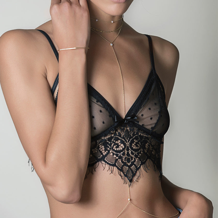 Dakota Body Chain, Body Chain - AMY O. Jewelry