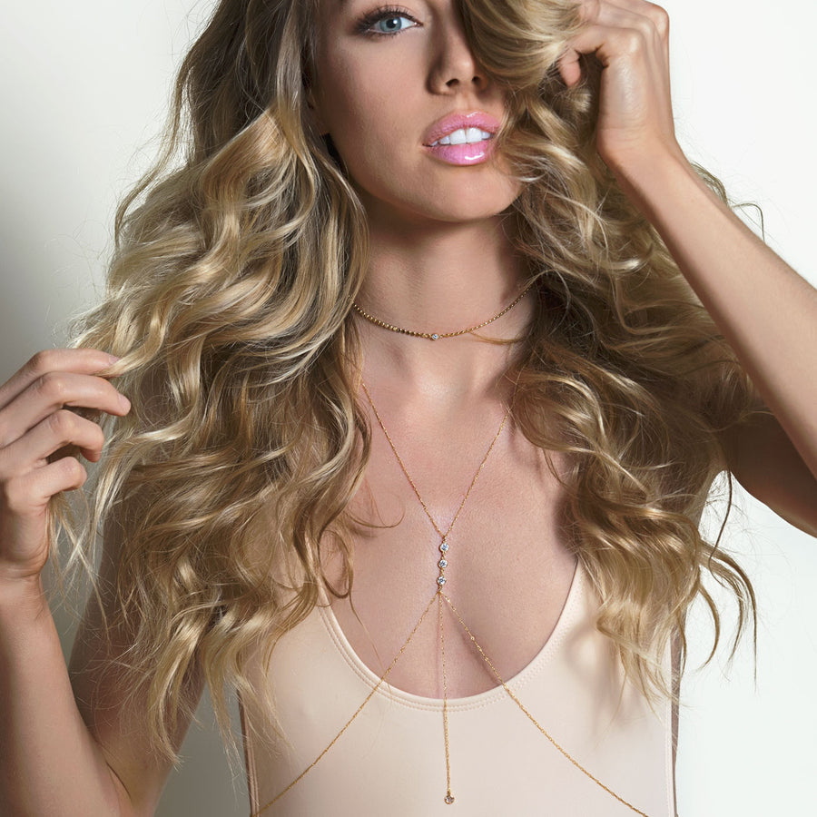 Gigi Bodychain, Body Chain - AMY O. Jewelry